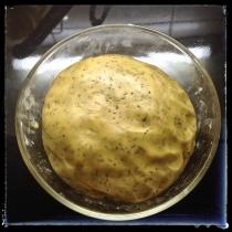 La masse de la pâte