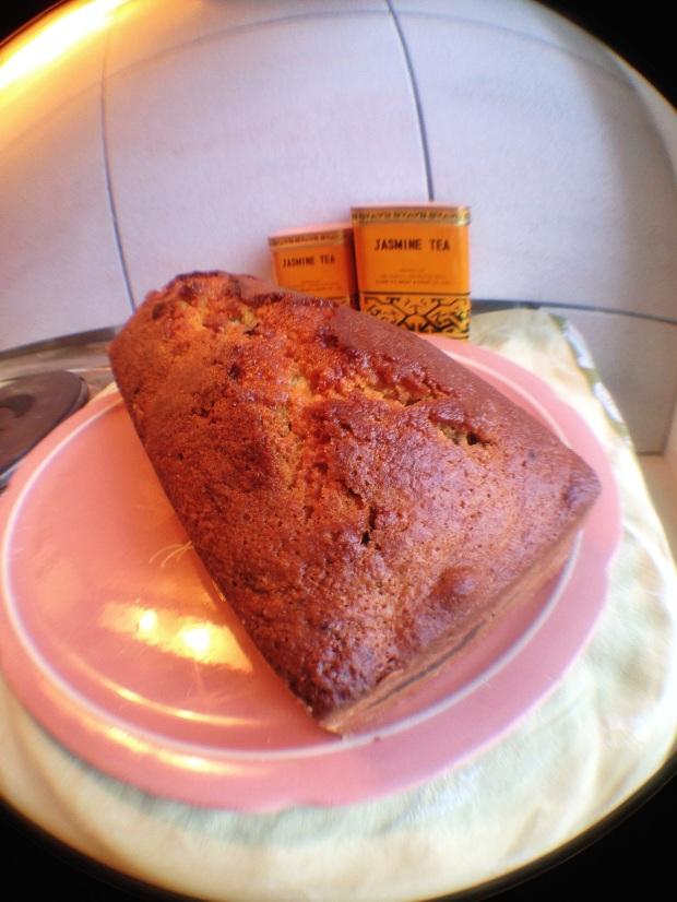 Cake marbré exotique