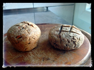 Pains de seigles multi-grains au levain
