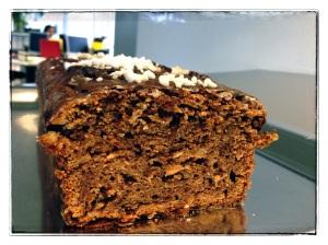Le côté moelleux du cake...